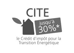Logo crédit d'impôt pour la transition énergetique