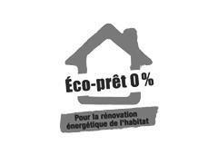 Logo éco-prêt 0%
