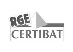 Logo CERTIBAT pour la rénovation énergitique