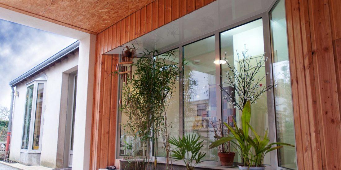 eco-renovation surélévation le porche