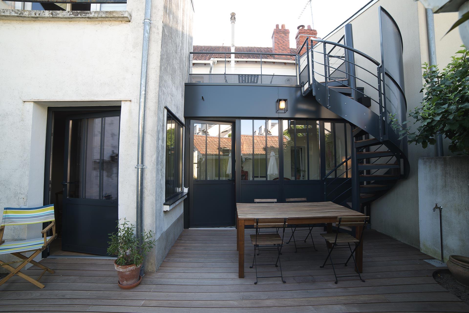Extension véranda, toiture et terrasse